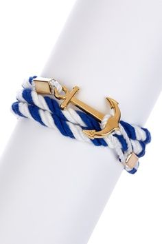 Anchor Wrap Rope Bracelet by Be Bright: Jewelry Shop on @HauteLook @Lindsay Scouras
