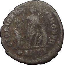 ARCADIUS with labarum 395AD Big Authentic Ancient Roman Coin Hand of God i56510 https://trustedmedievalcoins.wordpress.com/2016/07/06/arcadius-with-labarum-395ad-big-authentic-ancient-roman-coin-hand-of-god-i56510/