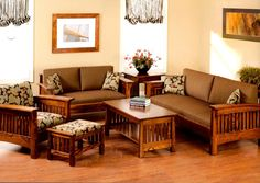 Image Result For Sofa Design In Wood Casual Room Ideas Pinterest Woods Set And Living Rooms