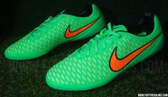 New Poison Green Nike Magista Opus 2015 Football Boots Leaked - The new Poison Green / Flash Lime / Total Orange / Black Nike Magista Opus 2014-2015 Soccer Cleat Colorway will be released in January 2015, set to be worn by Sergio Busquets and Arda Turan.