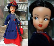 """Vintage Reliable Tammy Doll """"Mary Poppins""""  Canadian Version 1964 EUC"""