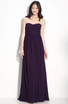 Pretty plum convertible dress - ties in 18 different ways!