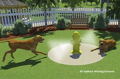 K9 Mist Hydrant | Dog Park Equipment – H2O Fido | Splash Pads, Dog Park & Dog Agility Equipment