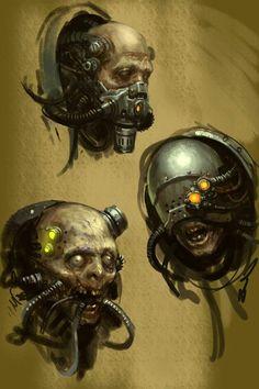 Imperium,Империум,Warhammer 40000,warhammer40000, warhammer40k, warhammer 40k, ваха, сорокотысячник,WH Песочница,фэндомы,servitor,Adeptus Mechanicus,Mechanicum