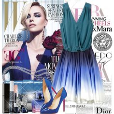 "Gorgeous is a major understatement!!  ""Art of fashion"" by eleonoragocevska on Polyvore"