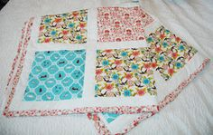 Maman Fabrics quilt by Cicely Ingleside