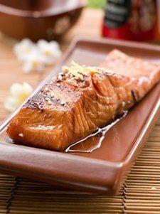 Photo de la recette Pavés de saumon à l'asiatique