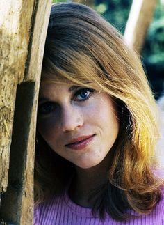 Jane Fonda, 1964 //  photo by Philippe Le Tellier