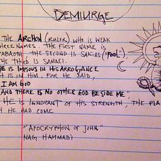A super groovy cool #gnostic reference for your day #Demiurge  #greatquotes #truth #wisdom