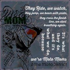 Copyrighted. Motocross Inspiration for Moto Moms. Original Work of The Moto District, Moto District Moto Mom