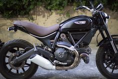 Another Custom Seat - Ducati Scrambler Forum