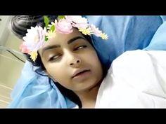 شاهد العنود الحربي على فراش المرض بالمستشفى!