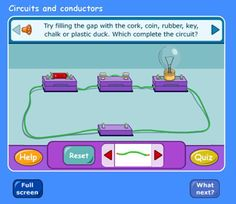The children had lessons with the science teacher. They learned about conductors and insulators. Here are some photos of the children doing an experiment. You can also play a game as well . Enj…