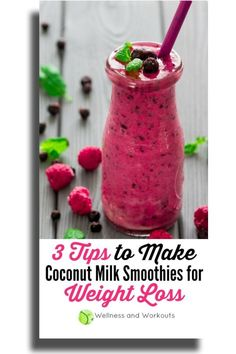 If you want to make a coconut milk smoothie for weight loss these are the most important things you need to know. Weight Loss Drinks, Weight Loss Smoothies, Best Weight Loss Foods, Dr Oz Weight Loss, Weight Loss For Men, Make Coconut Milk, Coconut Milk Smoothie, Smoothies For Kids, Healthy Smoothies