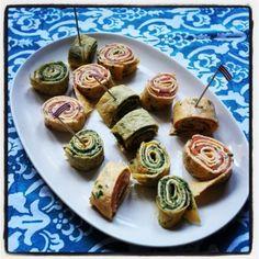 Recipe: Omelette pinwheels