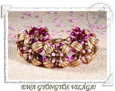 Riona  beaded bracelet PDF pattern