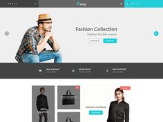 Fancy - eCommerce Fashion Template by DevItems