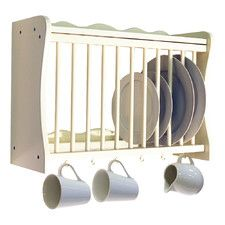 Wall Mounted Kitchen Storage Rack by House Additions / £82.99  sc 1 st  Pinterest & Wood Plate Rack for Vertical Plate Storage | Plate racks Plate ...