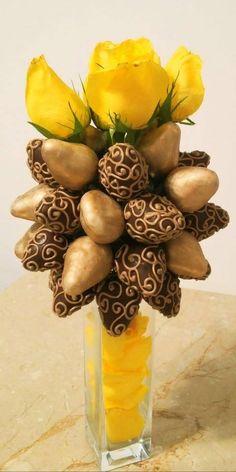 Bouquet dorado