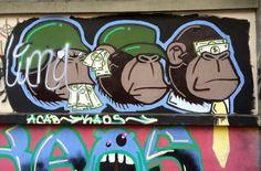 Street Art in Medellin http://travelingbytes.com/street-art-medellin-part-2/ #streetart #GraffitiStreetArt #Colombia #colombiana