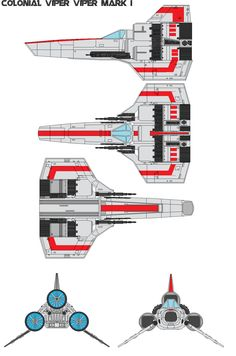 colonial viper | Colonial Viper Viper Mark I by bagera3005 on deviantART