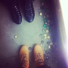 I like the buttons not the shoes Kinds Of Shoes, New York Fashion, Combat Boots, Shots, Buttons, Shoe Bag, Places, Bags, Clothes
