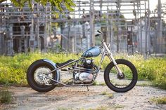 Yamaha XS650 Bobber by FKKMOTOUSA #motorcycles #bobber #motos | caferacerpasion.com