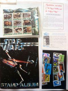 STAR WARS STAMP COLLECTING KIT(1977)
