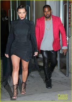 Kim Kardashian & Kanye West Head to Yeezus MSG Concert! Killing it