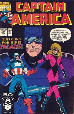 Captain America # 381 by Ron Lim & Danny Bulanadi