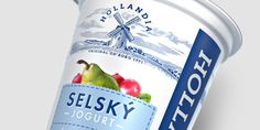 Hollandia refreshed: The Czech lovebrand's bold makeover — The Dieline - Branding & Packaging