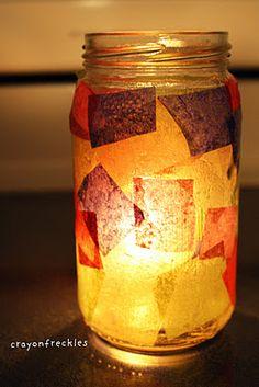 jar like in Llama Llama Misses Mama #crayonfreckles