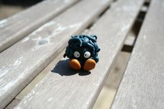 Handmade Polymer Clay Pokemon Tangela Figure by IntoTheWarpZone