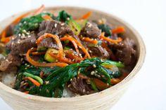 Arroz con carne y verduras al wok Sauteed meat, rice, wok vegetables … … – The World Rice Recipes, Asian Recipes, Beef Recipes, Cooking Recipes, Ethnic Recipes, Asian Foods, Chinese Recipes, Chinese Food, Dinner Recipes