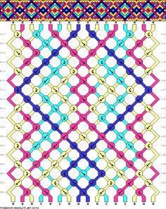 Learn to make your own colorful bracelets of threads or yarn. Diy Friendship Bracelets Patterns, Diy Bracelets Easy, Peyote Patterns, Macrame Patterns, String Bracelet Patterns, Fabric Origami, Animal Crafts For Kids, Bracelet Tutorial, Bracelet Designs