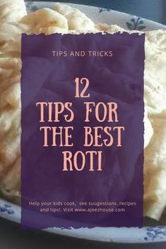 Roti is a staple of Caribbean and West Indian Cooking whether you call it Roti, Paratha Roti or Buss-Up-Shut. The secret to making good Roti is practice but here are some tips to boost your Roti making skills.