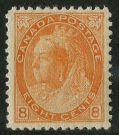 Canada-82-8c-Orange-1898-1902-Numeral-Issue-VF-80-NH-893-800-Issued