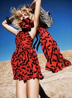 Duchess Dior: Anabela Belikova by Jan Welters for Marie Claire US March 2014
