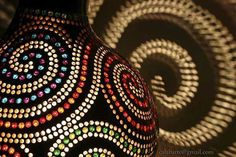Настольные лампы от Calabarte