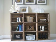 Crates....DIY - The Lilypad Cottage