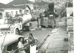 10 de dezembro de 1975 - Rua Francisco Polito, na Vila Prudente.