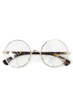 5256a3f04a0 Vintage Retro Round Glasses Frame - love these too  D Harry Potter shape