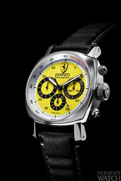Ferrari Scuderi Watch