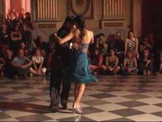 ▶ Roxana Suarez y Sebastian Achaval - Milonga Brava - 10°Genova Tango Festival - YouTube