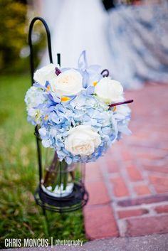 love these colors and style for aisle markers