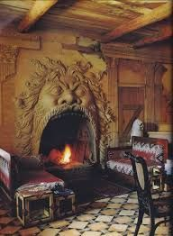 16th century italian fireplace - Google Search Fantasy Places, 16th Century, Fairytale, Homes, Google Search, Home Decor, Fairy Tail, Fairytail, Houses