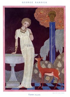 Faustine by George Barbier 1914