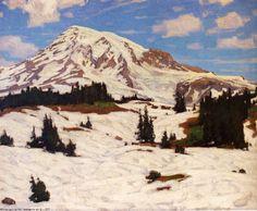"""""""Mt. Rainier"""" by William Wendt"""