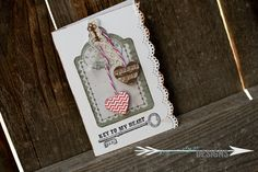 Little1Paperie: Key to my Heart Valentine's Card by Little1Paperie http://jessicaelysedesigns.blogspot.com/