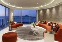 Circular Living Room - Modern Interiors